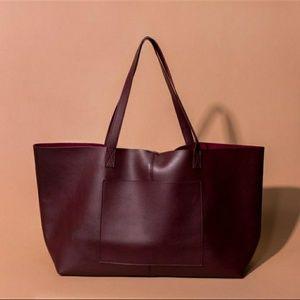 Summer & Rose molly tote vegan leather bag